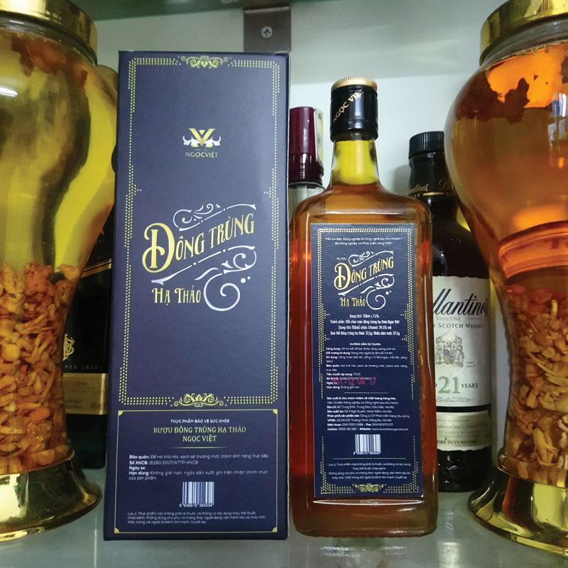 Tác dụng của rượu đông trùng hạ thảo
