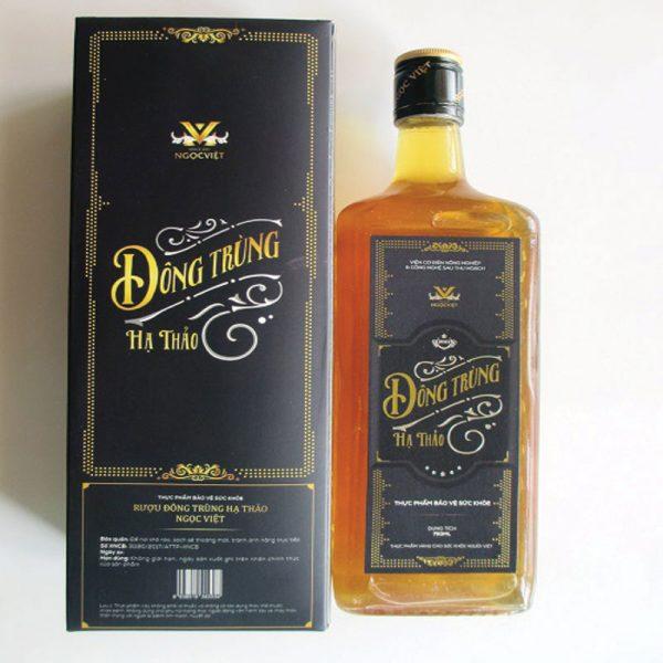 Rượu Đông Trùng Hạ Thảo Ngọc Việt 750ML